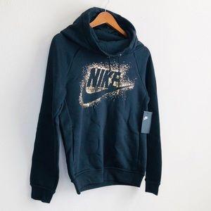 NWT Nike Rally Metallic Hoodie